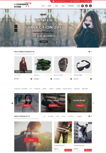 Ecommerce WordPress Theme