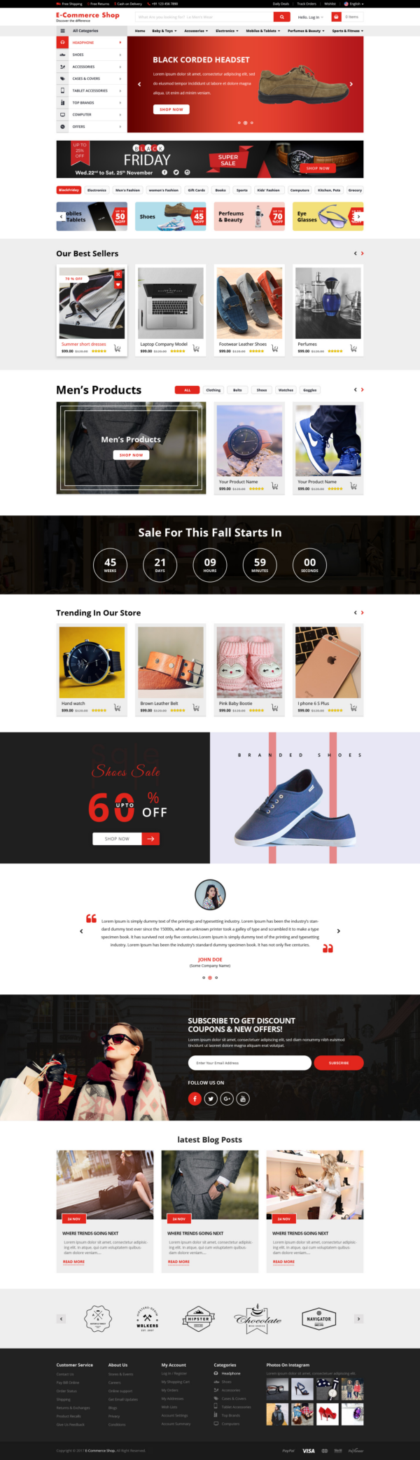 Alt Ecommerce WordPress Theme