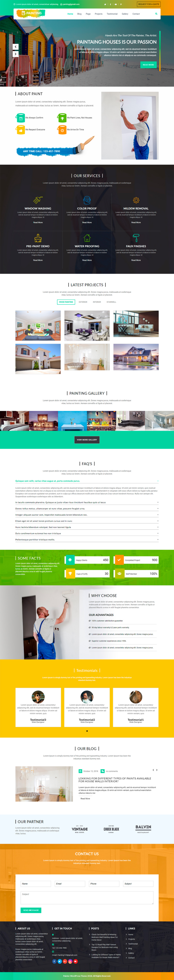Painter WordPress Theme